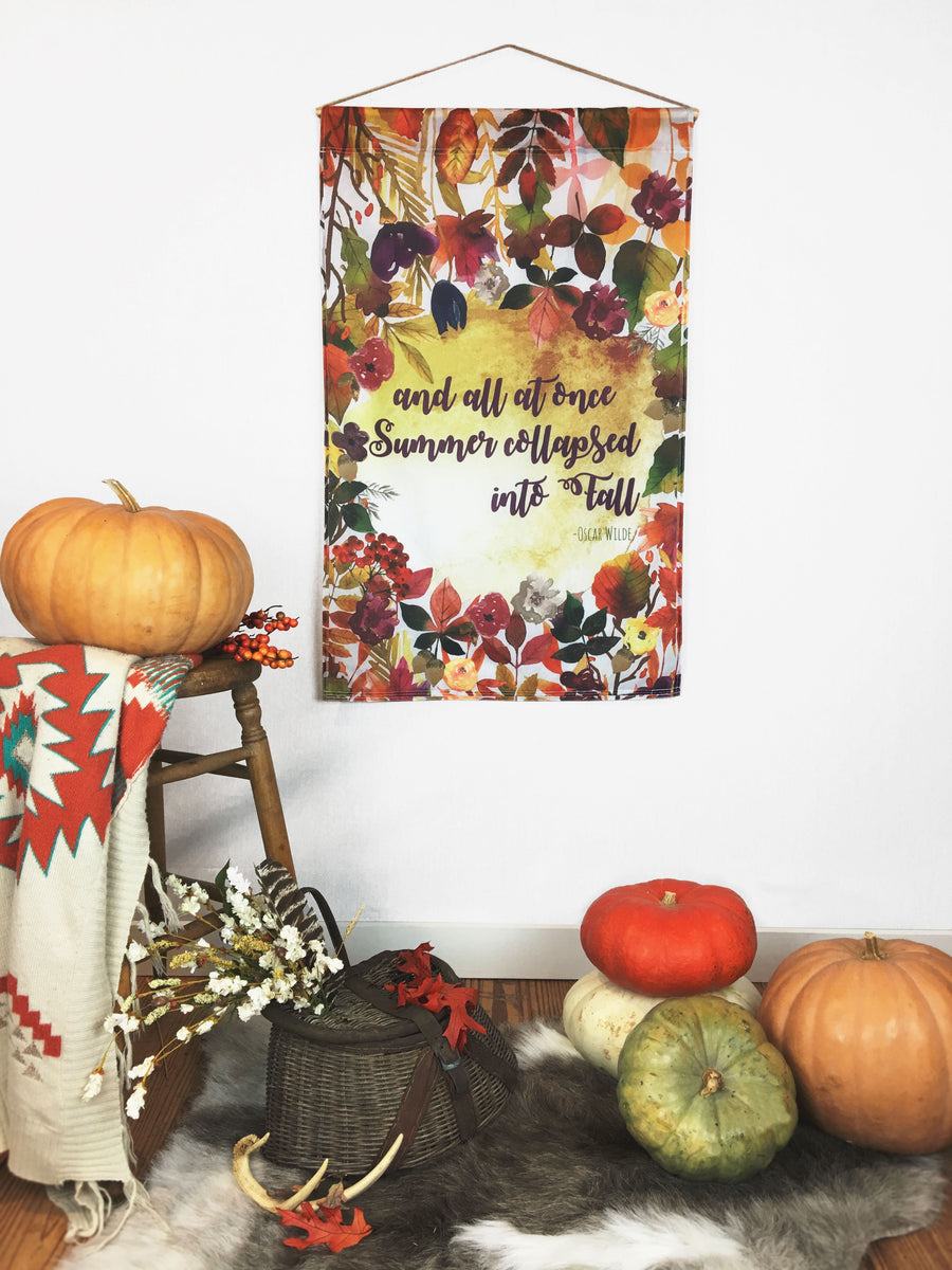 Fall Bouquet | Large Wall Hanging