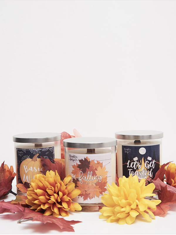 Let's Get Toasted <br>Fall Inspired Soy Candle