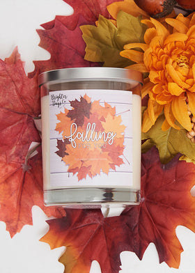 Falling for You Fall Candle Hand poured Soy Candle