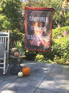Campfire Nights | Outdoor House Flag