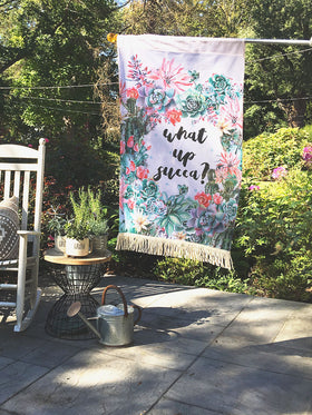 Love Succs | Outdoor House Flag
