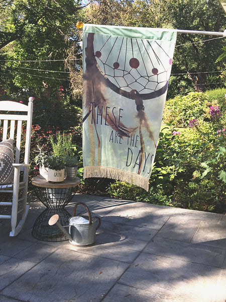 Dreamcatcher Days | Outdoor House Flag