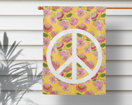 Flower Power | Outdoor House Flag - 2 Sizes!
