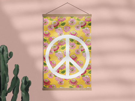 Flower Power - Framed Wall Hanging