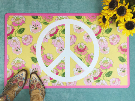Flower Power - Accent Mat - Multiple Sizes!