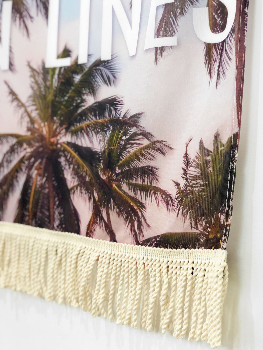 Good Times & Tan Lines | Large Wall Hanging