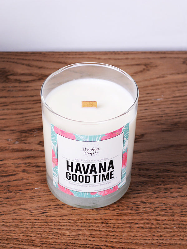 Havana Good Time<br>Hand Poured Vegan Soy Candle