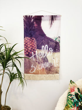 Hello Summer | Large Wall Hanging