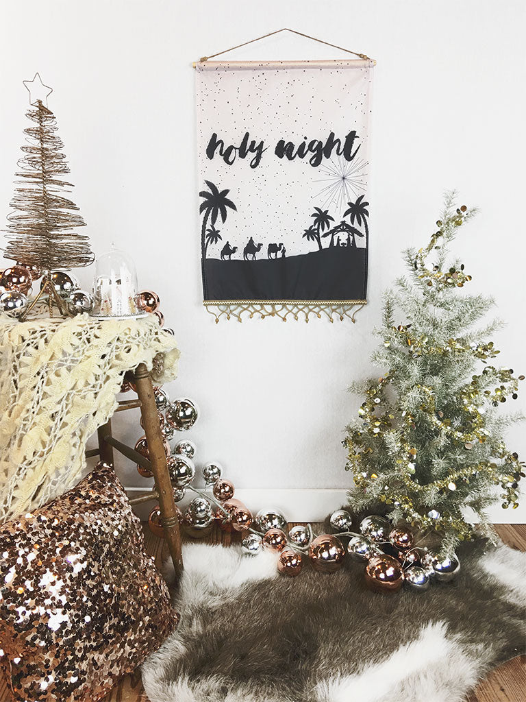 Holy Night | Small Wall Hanging