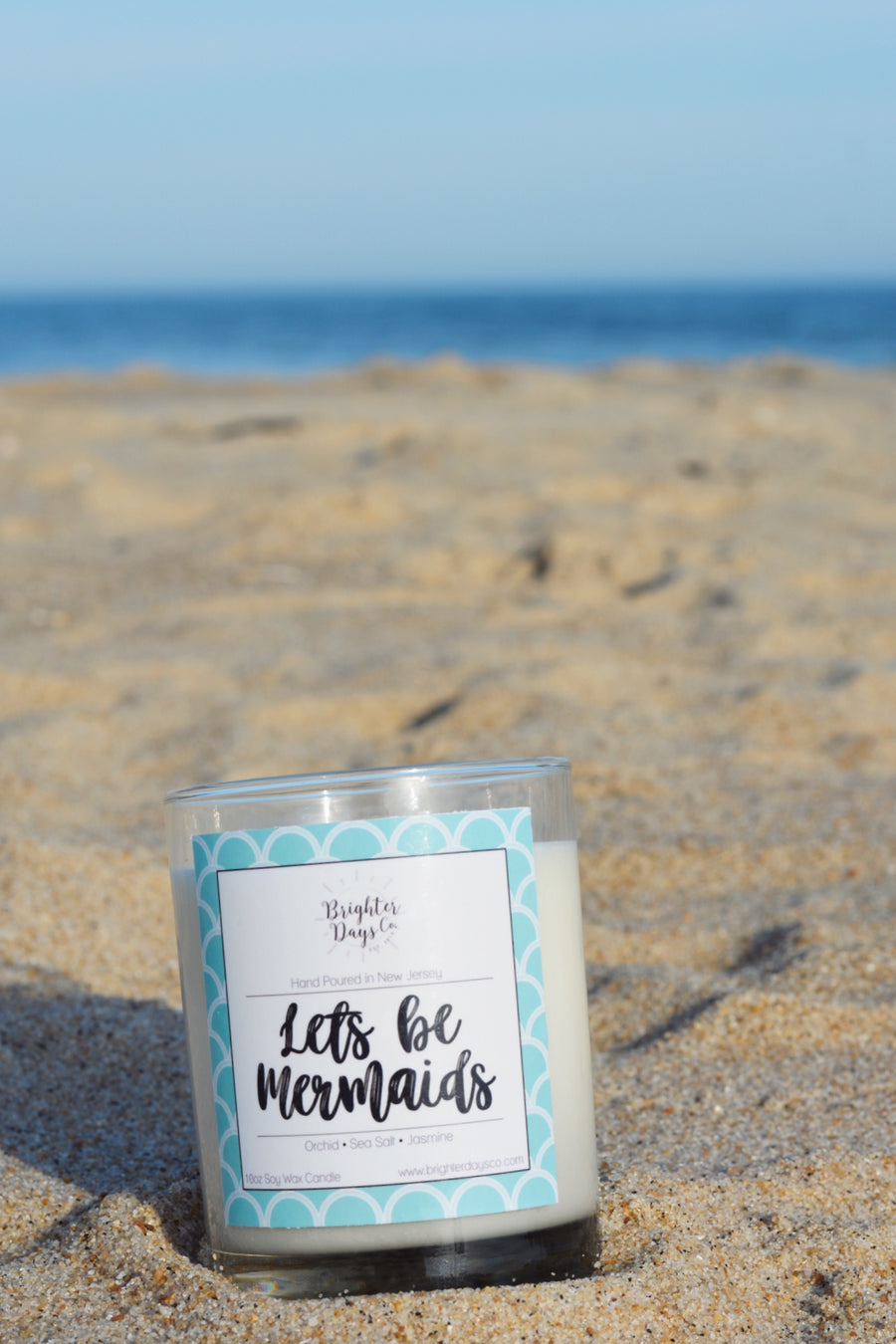 Let's Be Mermaids<br>Hand Poured Vegan Soy Candle