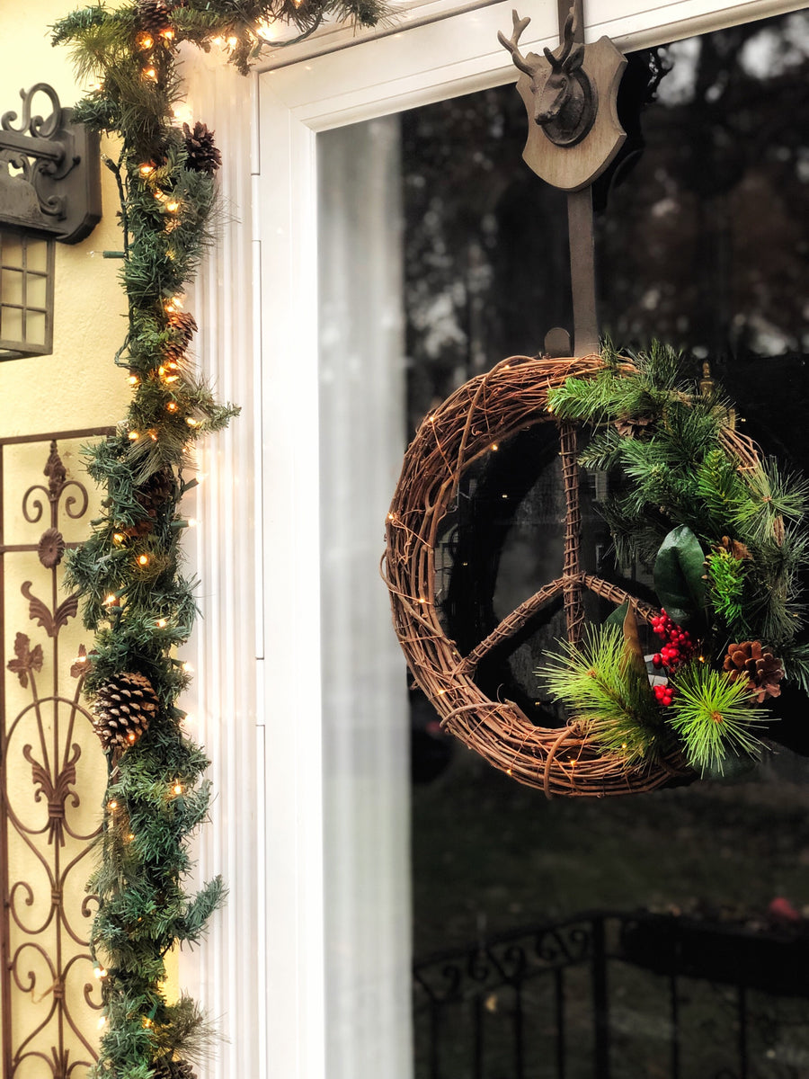 Holiday Peace<br>Wreath