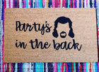 Party in the Back Funny Doormat