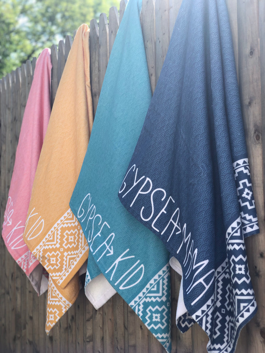 Gypsea Mama + Kid Beach Towels - 4 Pack Bundle