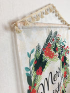 Merry Wreath | Small Wall Hanging