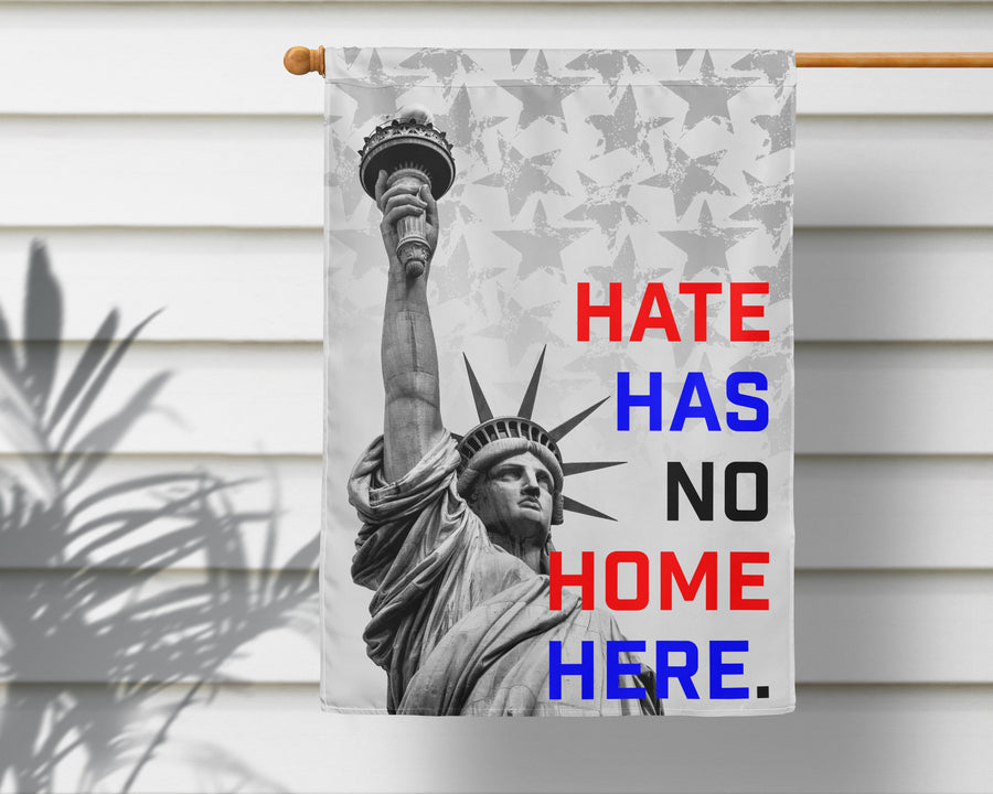 No Hate America Garden Flag + Wall Hanging - Multiple Options Available!