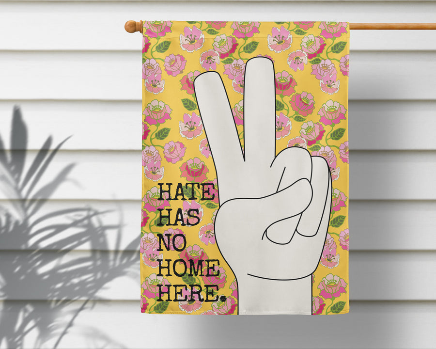 No Hate Only Peace Flag + Wall Hanging - Multiple Options Available!
