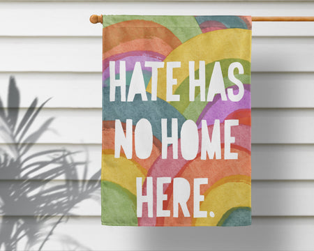 No Hate Rainbow Flag + Wall Hanging - Multiple Options Available!