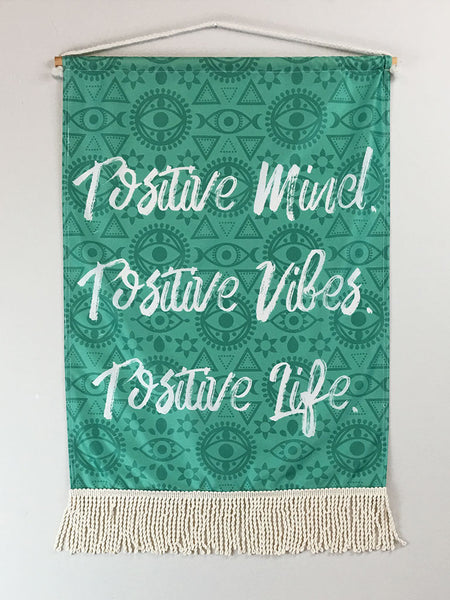 Positive Mind | Small Wall Hanging