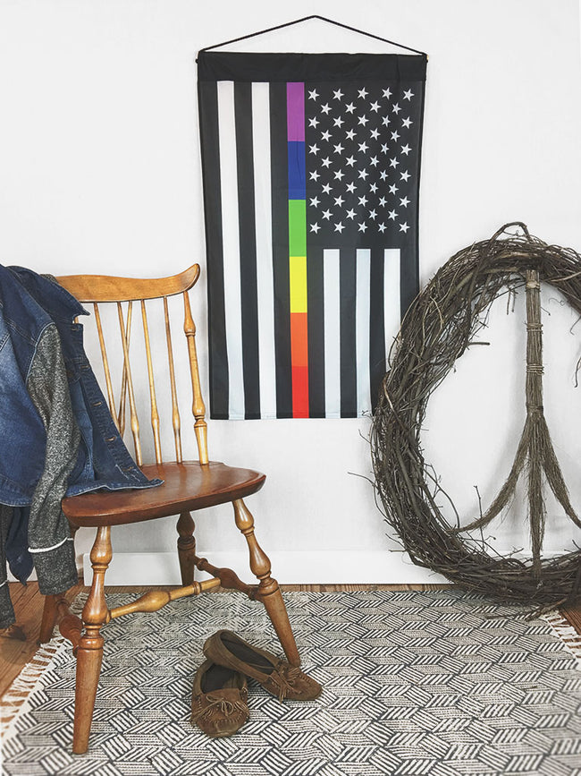American Pride LGBTQ | Wall Hanging - 2 Sizes!
