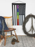 American Pride LGBTQ | Garden Flag + Wall Hanging - 2 Sizes!