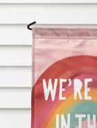 All Together Rainbow Garden Flag + Wall Hanging - Multiple Options Available!