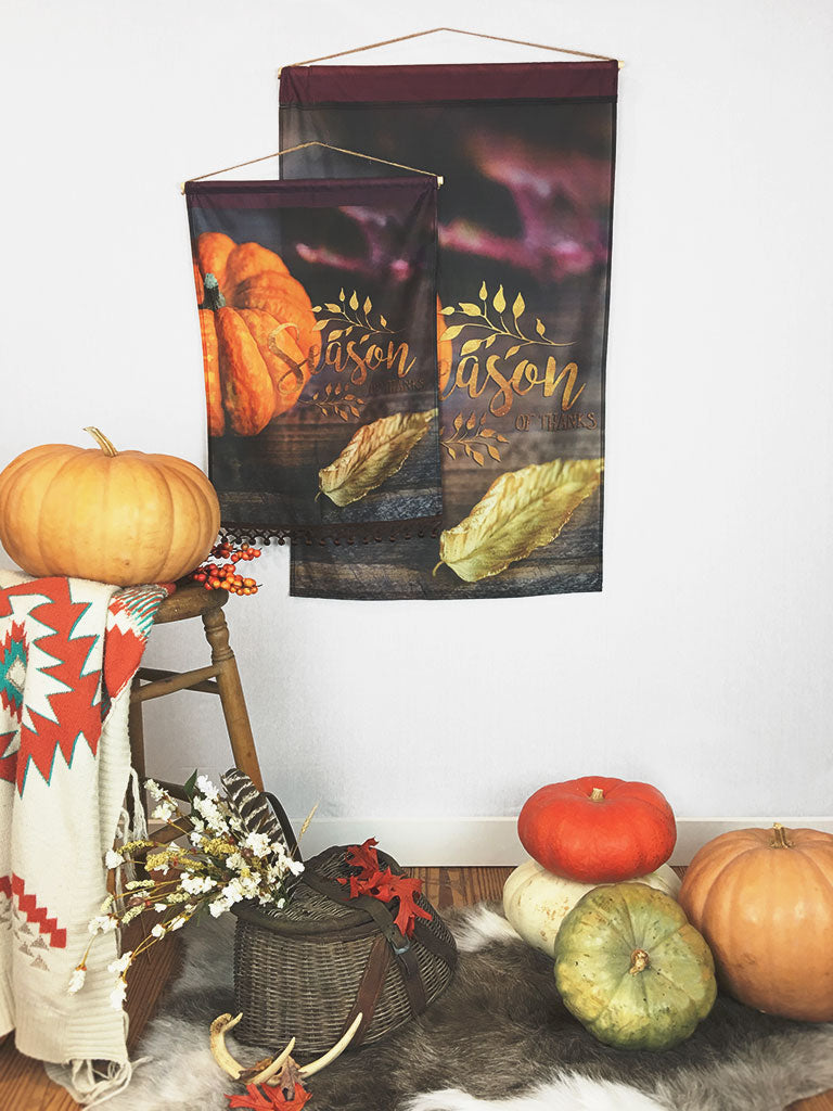Season of Thanks | Large Wall Hanging