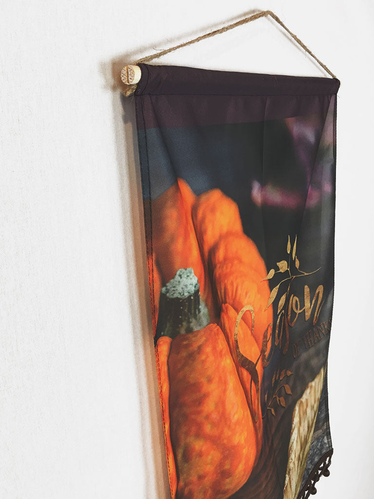 Season of Thanks | Small Wall Hanging