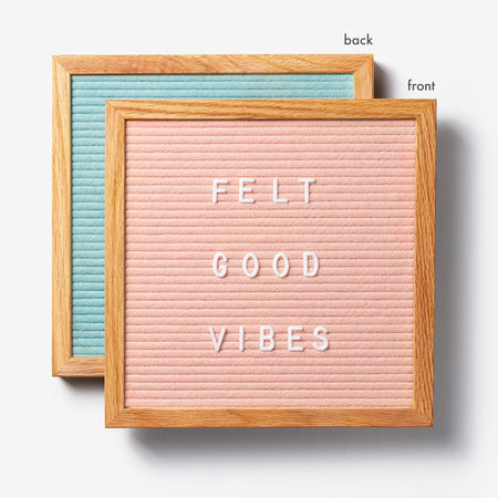 Double Sided Standard Letter Board - 4 Colors Available! - 4 DAY LAUNCH EXCLUSIVE!