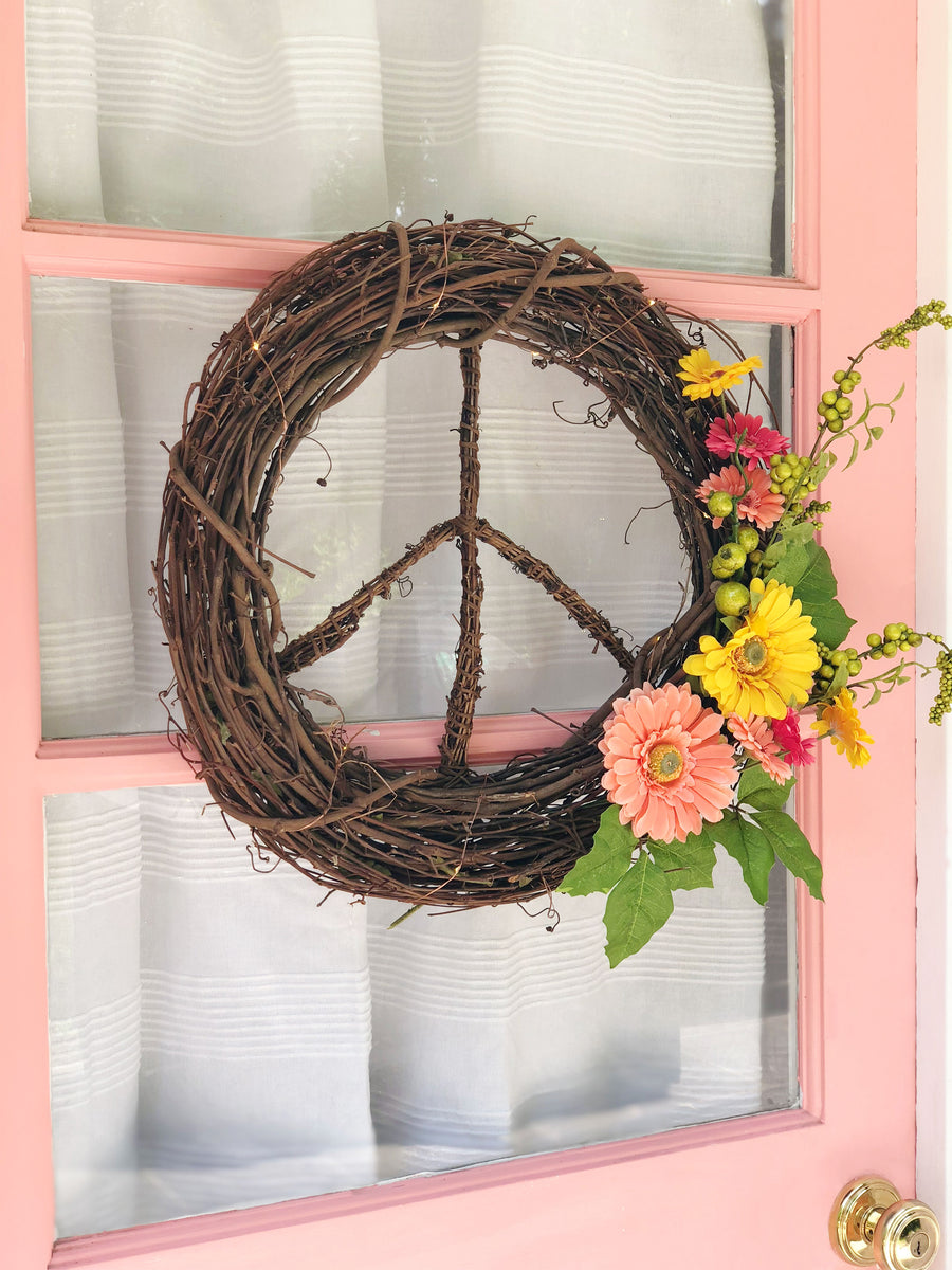 Wildflower<br>Peace Wreath