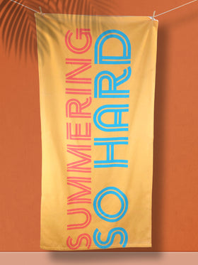 Summering So Hard XL Beach Towel