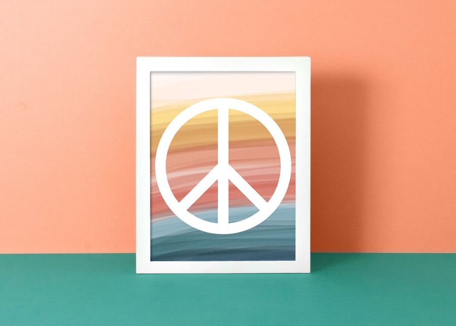 Peace Dreams Art Print