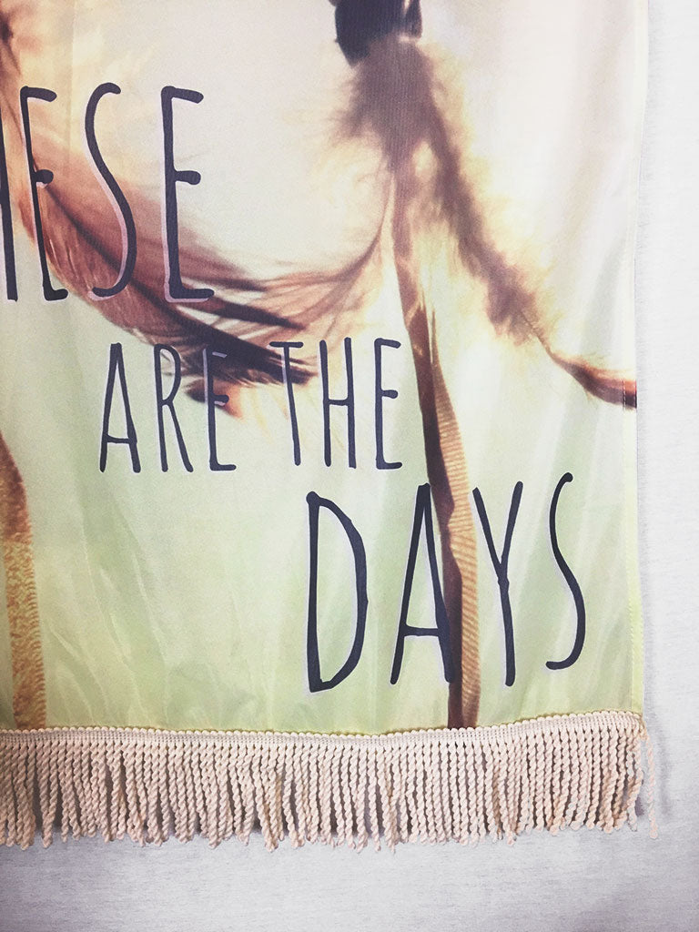 Dreamcatcher Days | Large Wall Hanging
