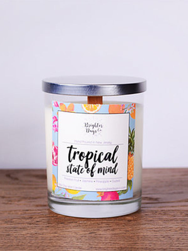 Summer Candle Tropical State of Mind Vegan Soy Candle