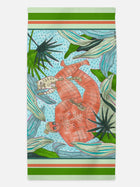 Ukulele Player - Beach Towel featuring Maggie Stephenson Art