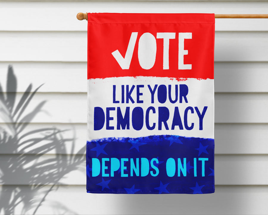 Vote! Garden Flag + Wall Hanging - Multiple Options Available!