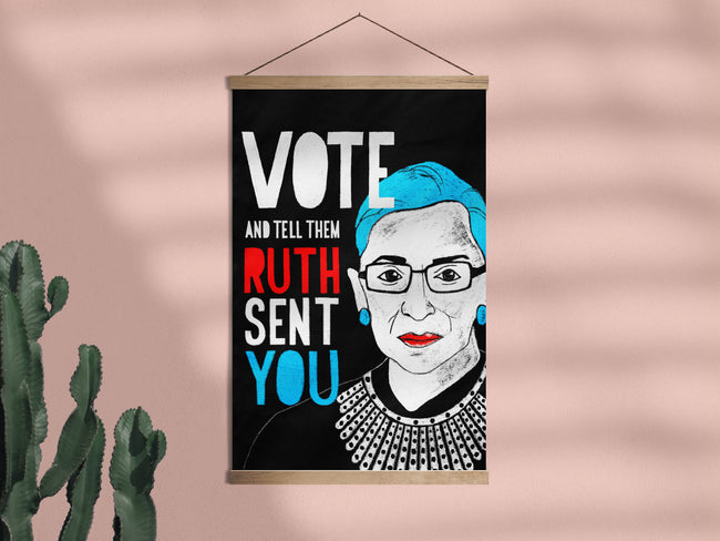 Tell Them Ruth Sent You - Framed Wall Hanging