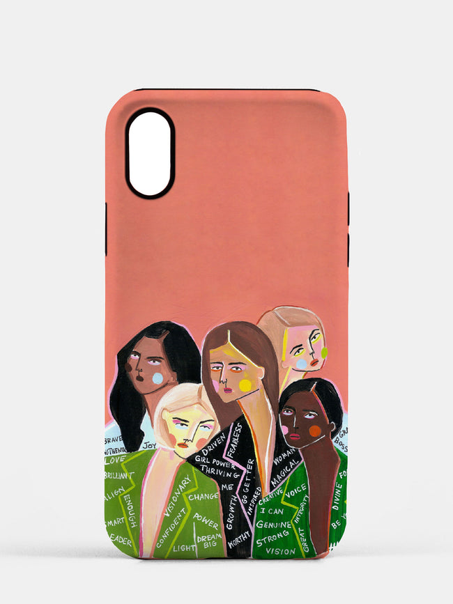 We Are Boss Babes - Cell Phone TOUGH Case featuring Maggie Stephenson Art