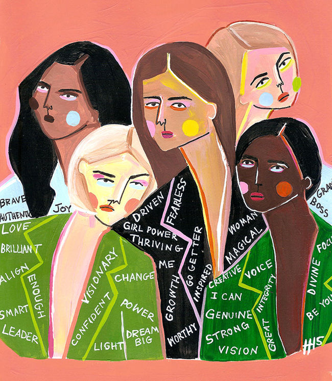 We Are Boss Babes Art Print by Maggie Stephenson Art