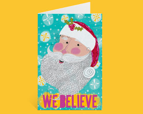 We Believe Santa - Holiday Greeting Card Packs