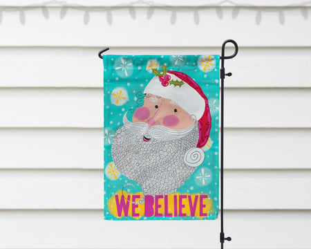 We Believe Santa Garden Flag + Wall Hanging - Multiple Options Available!