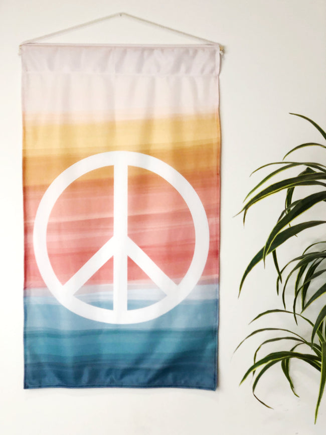 Peace + Wellbeing | Large Wall Hanging