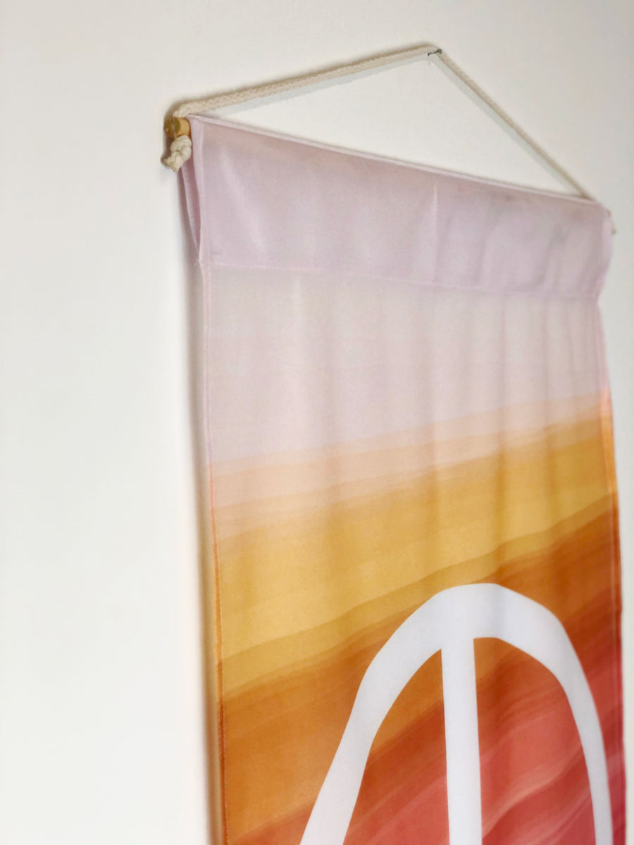 Peace + Wellbeing | Wall Hanging - 2 Sizes!