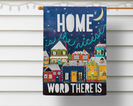 Wilder Holiday Homes Flag + Wall Hanging - Multiple Options Available!
