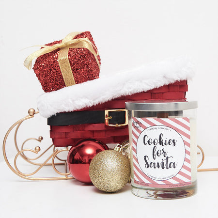 Cookies for Santa Holiday Inspired Soy Candle