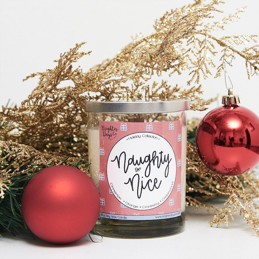 The X-mas Lover's Bundle Set of 5 Holiday Inspired Soy Candles