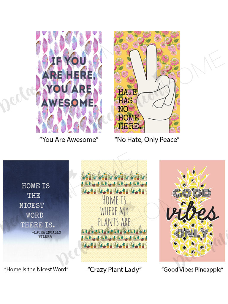 Boho Eclectic  Art Prints Wall Decor by Courtney Bush