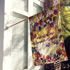 Fall Bouquet House Flag / Wall Hanging / Outdoor Flag