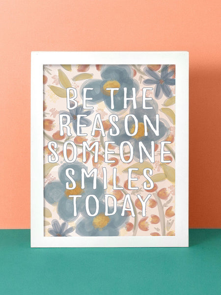 Be the Reason | Vertical Art Print