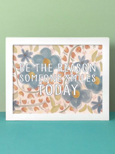 Be the Reason | Horizontal Art Print