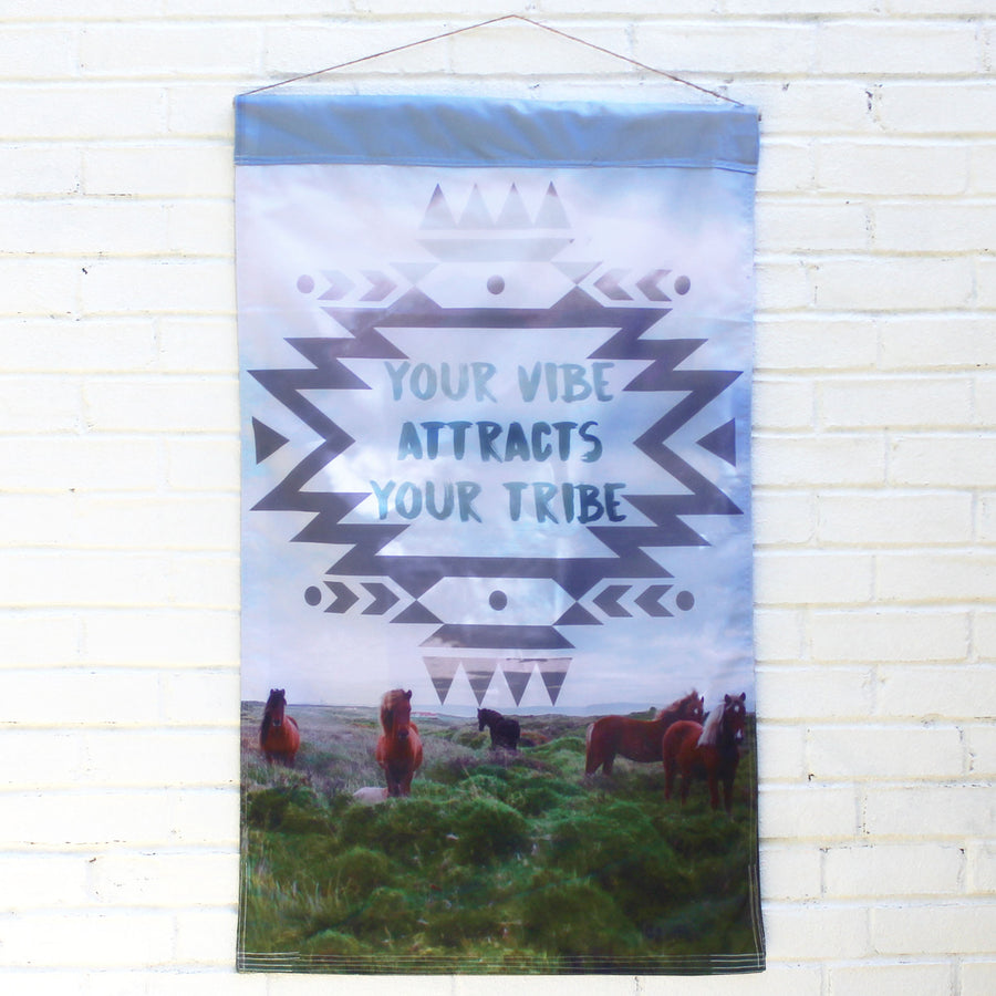 Squad Goals Tribe | Outdoor House Flag